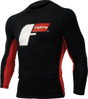 Fighting Sports Power-Flex Pro Rash Guard Long Sleeve